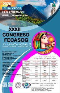 Afiche de Congreso FECASOG 2020